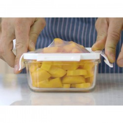 Lunch box Delect 900 ml, transparentny