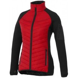 Banff Lds Jacket, Red/Black,XS